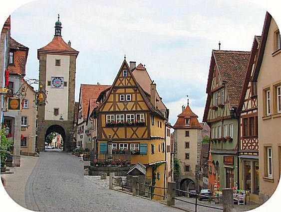 ドイツ デュッセルドルフ 観光 rothenburg ローテンブルグ